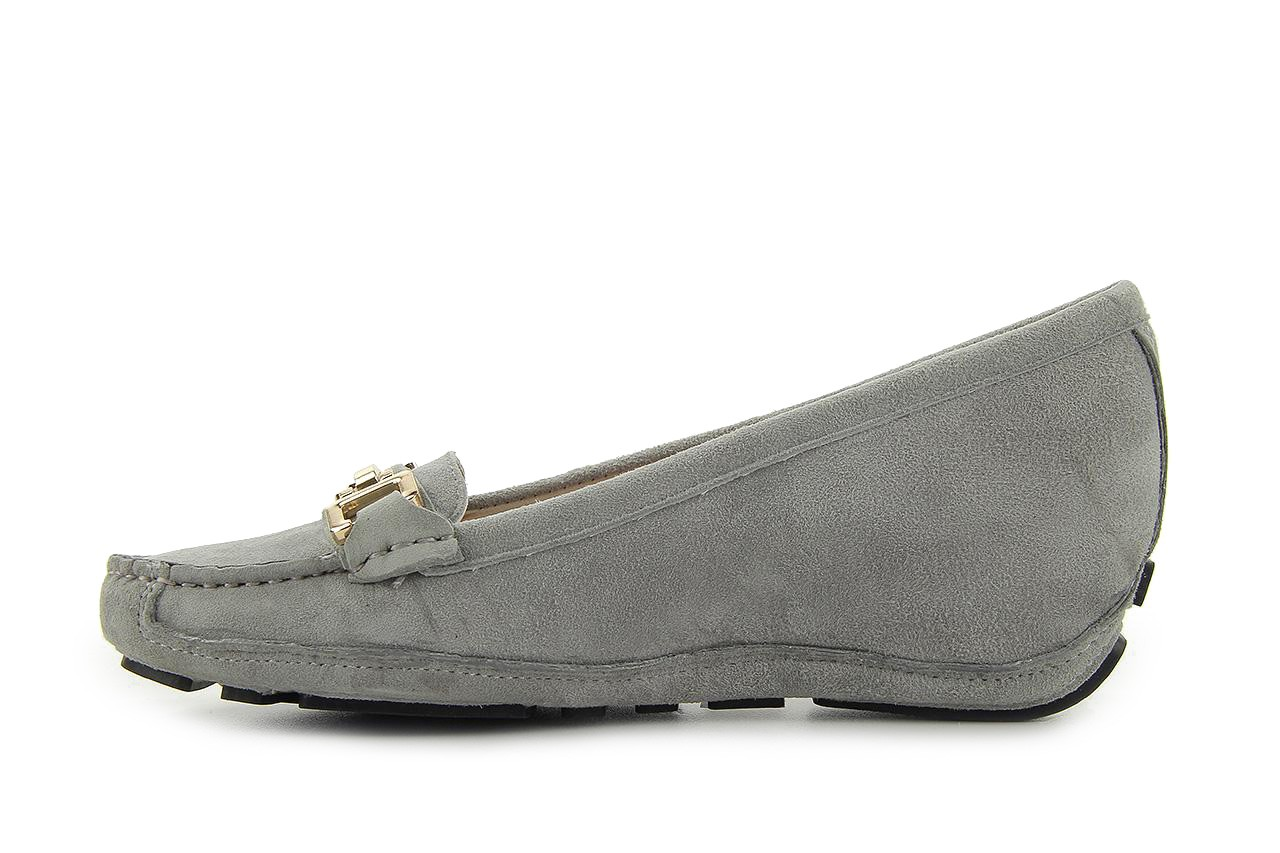 Bayla fl158-35 light grey kid suede - bayla - nasze marki 7