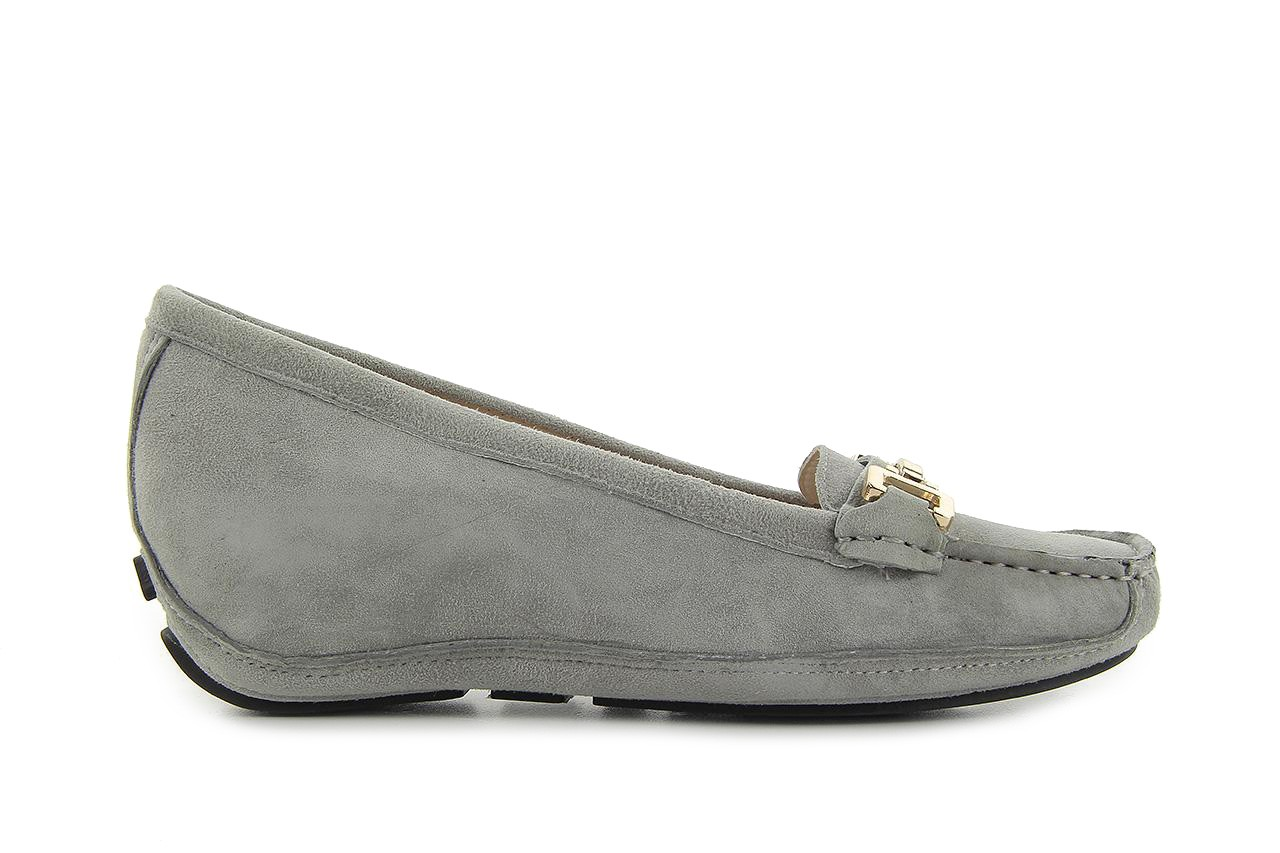 Bayla fl158-35 light grey kid suede - bayla - nasze marki 5