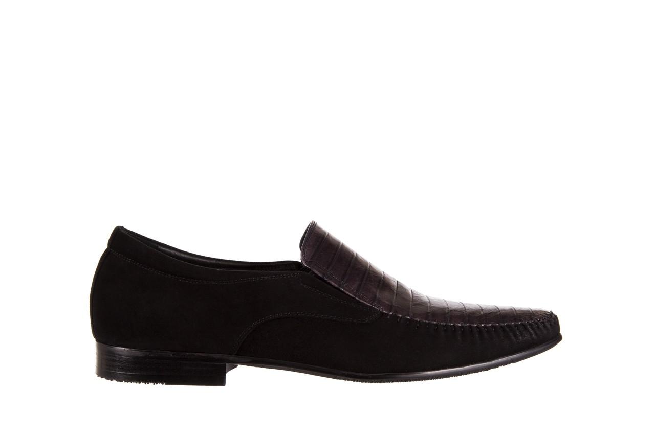 Mokasyny brooman 1352-46ea black, czarny, skóra naturalna  - mokasyny i espadryle - buty męskie - mężczyzna 6