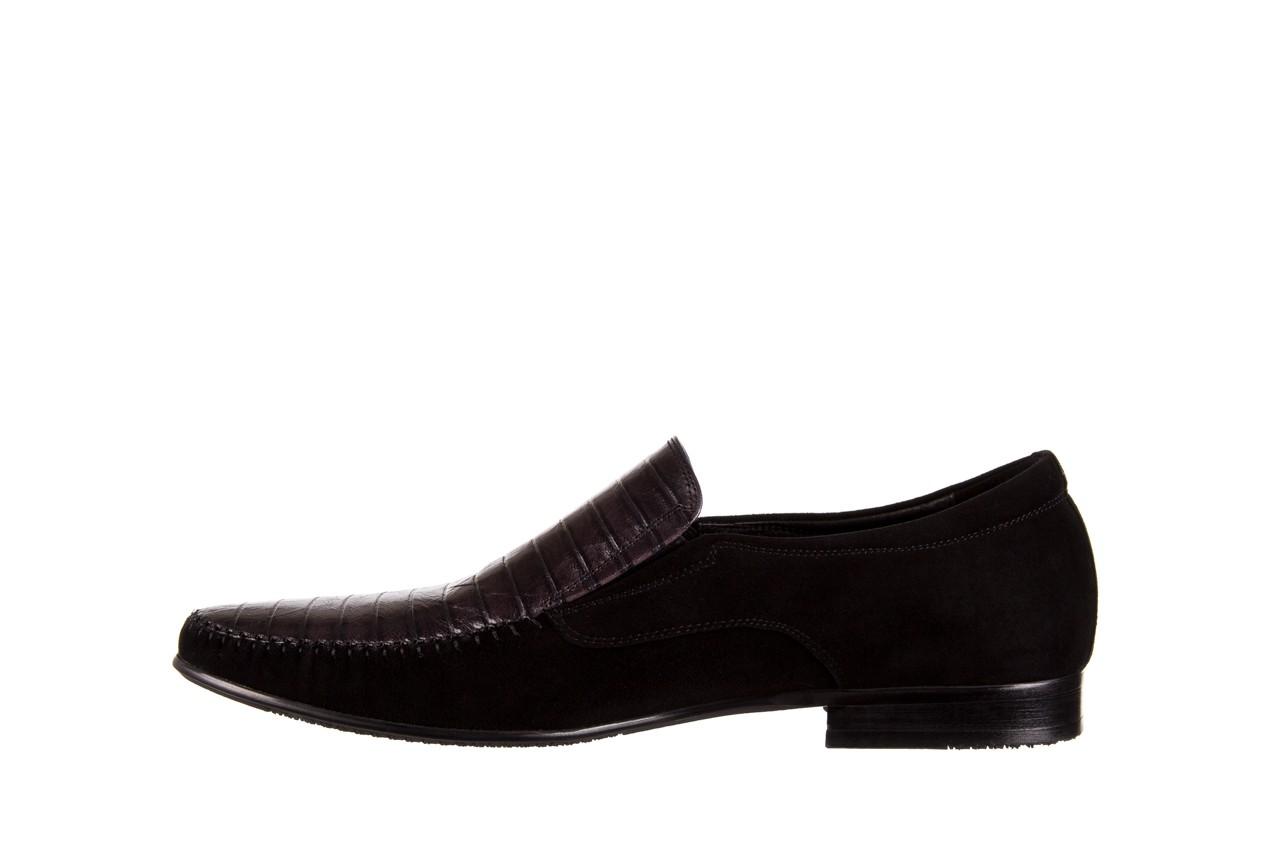 Mokasyny brooman 1352-46ea black, czarny, skóra naturalna  - mokasyny i espadryle - buty męskie - mężczyzna 8