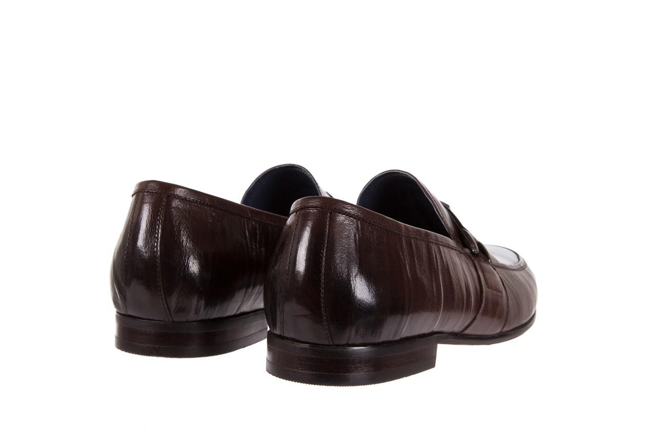 Mokasyny brooman 7712-01g132 brown, brąz, skóra naturalna  - brooman - nasze marki 9
