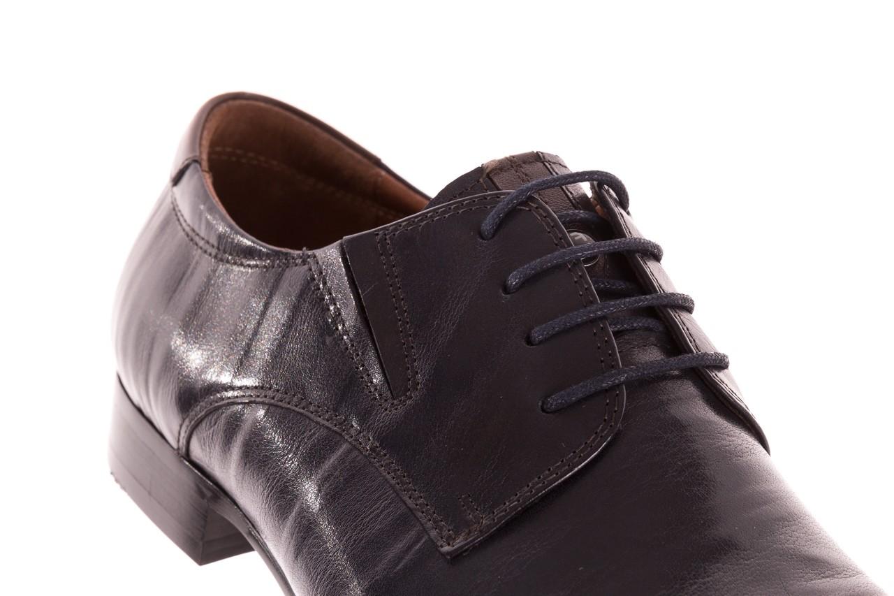 Półbuty brooman 7760-07h677 blue, granat, skóra naturalna  - wizytowe - półbuty - buty męskie - mężczyzna 13