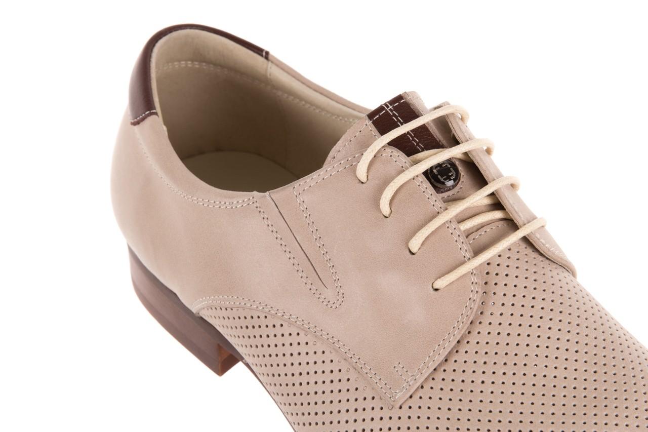 Półbuty brooman 7760-207h721 beige, beż, skóra naturalna  - obuwie wizytowe - buty męskie - mężczyzna 11