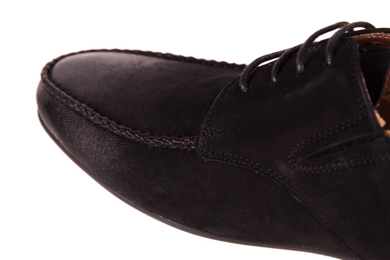 Półbuty brooman 7769-12h642 black 18, czarny, skóra naturalna  - brooman - nasze marki 11