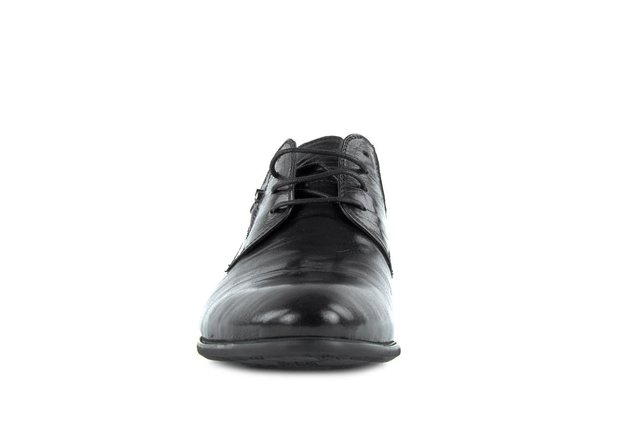 Półbuty brooman a0427-905-4 black, czarny, skóra naturalna  - brooman - nasze marki 7