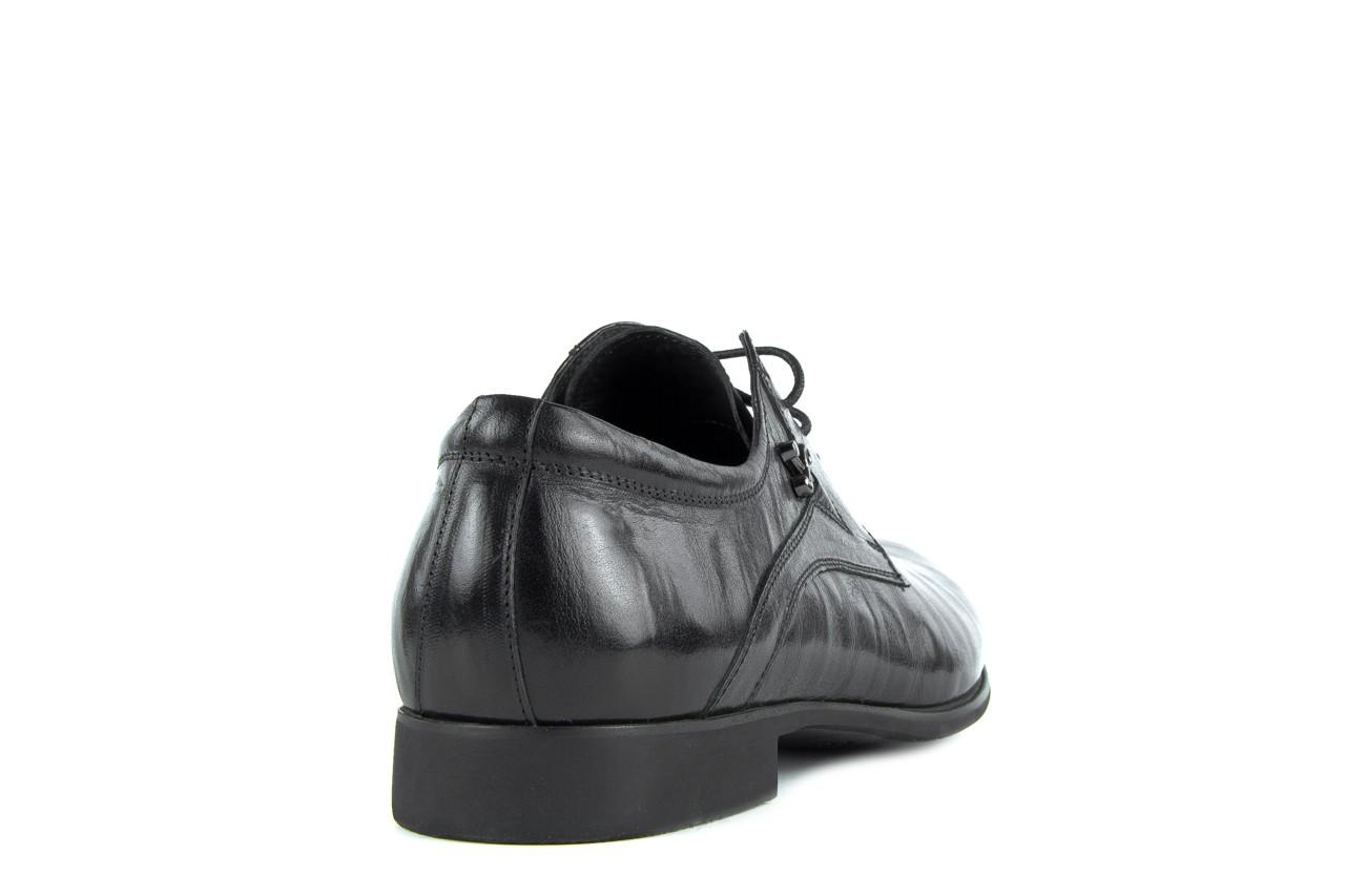 Półbuty brooman a0427-905-4 black, czarny, skóra naturalna  - brooman - nasze marki 8