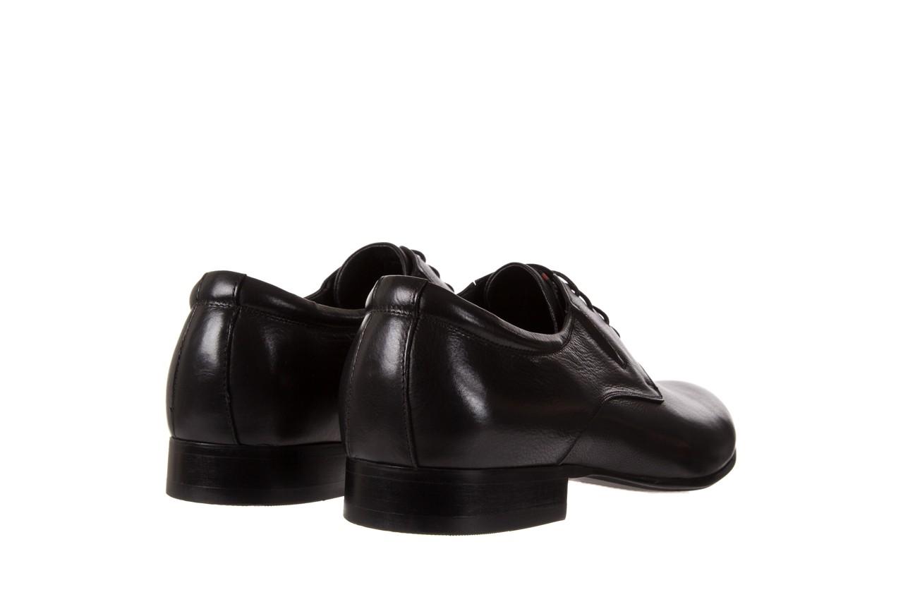 Półbuty brooman a8111-105-1 black, czarny, skóra naturalna  - brooman - nasze marki 9