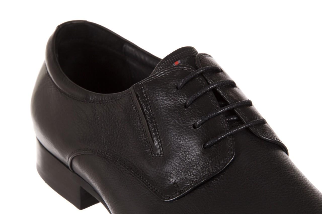 Półbuty brooman a8111-105-1 black, czarny, skóra naturalna  - brooman - nasze marki 11