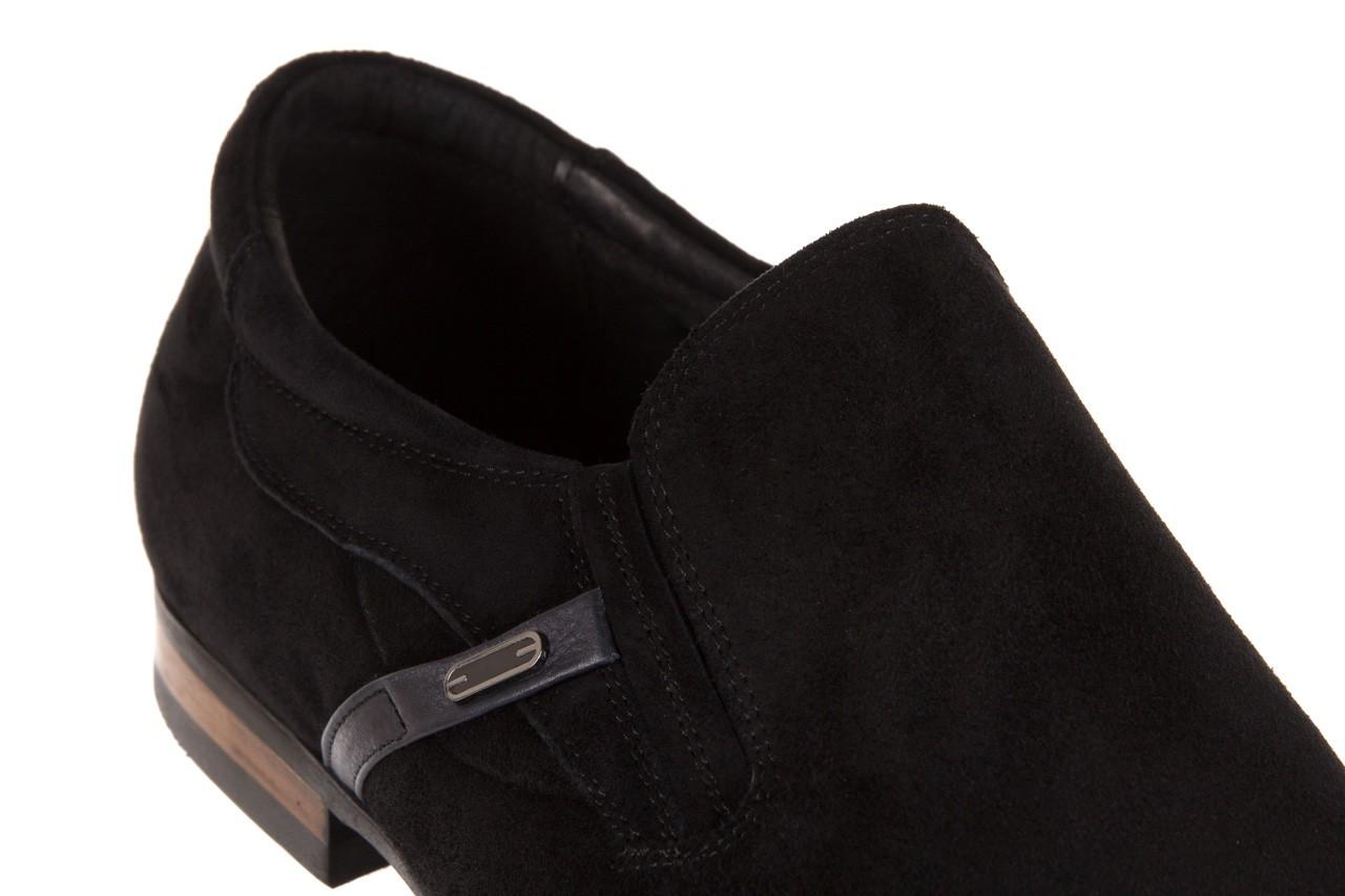 Półbuty brooman a8115-106-2 black 104046, czarny, skóra naturalna  - brooman - nasze marki 11