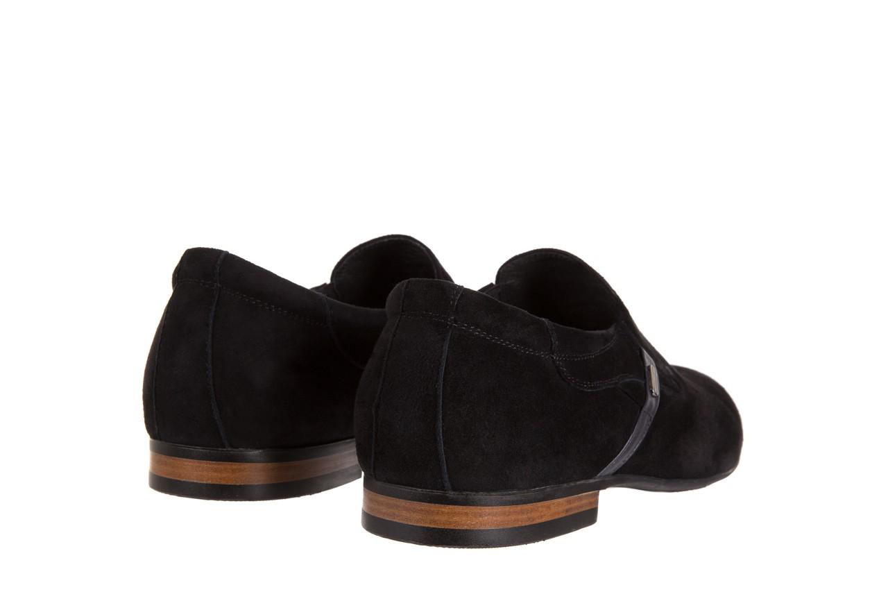 Półbuty brooman a8115-106-2 black 104046, czarny, skóra naturalna  - brooman - nasze marki 9