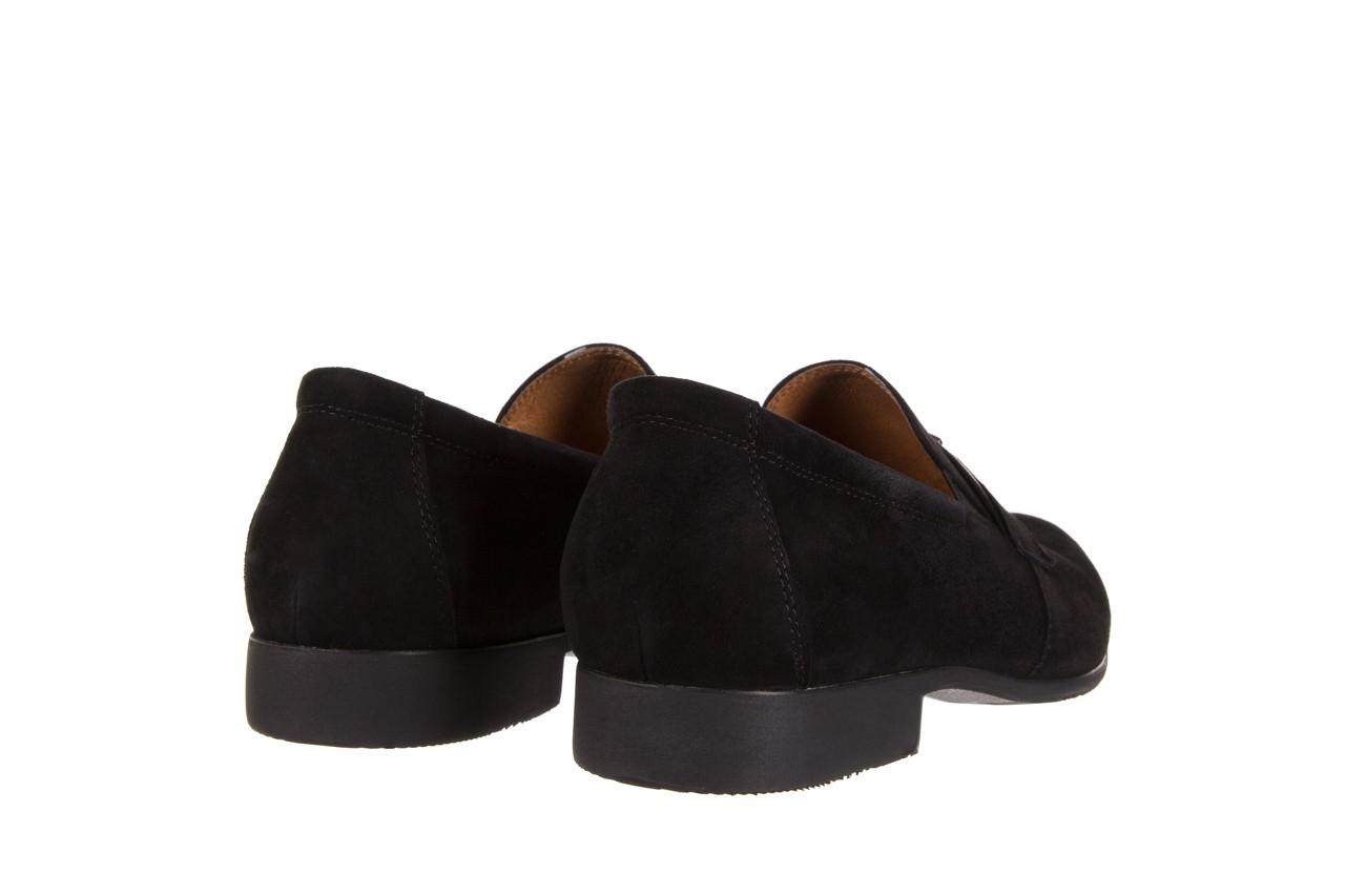 Półbuty brooman c115-302-1 black, czarny, skóra naturalna  - brooman - nasze marki 9