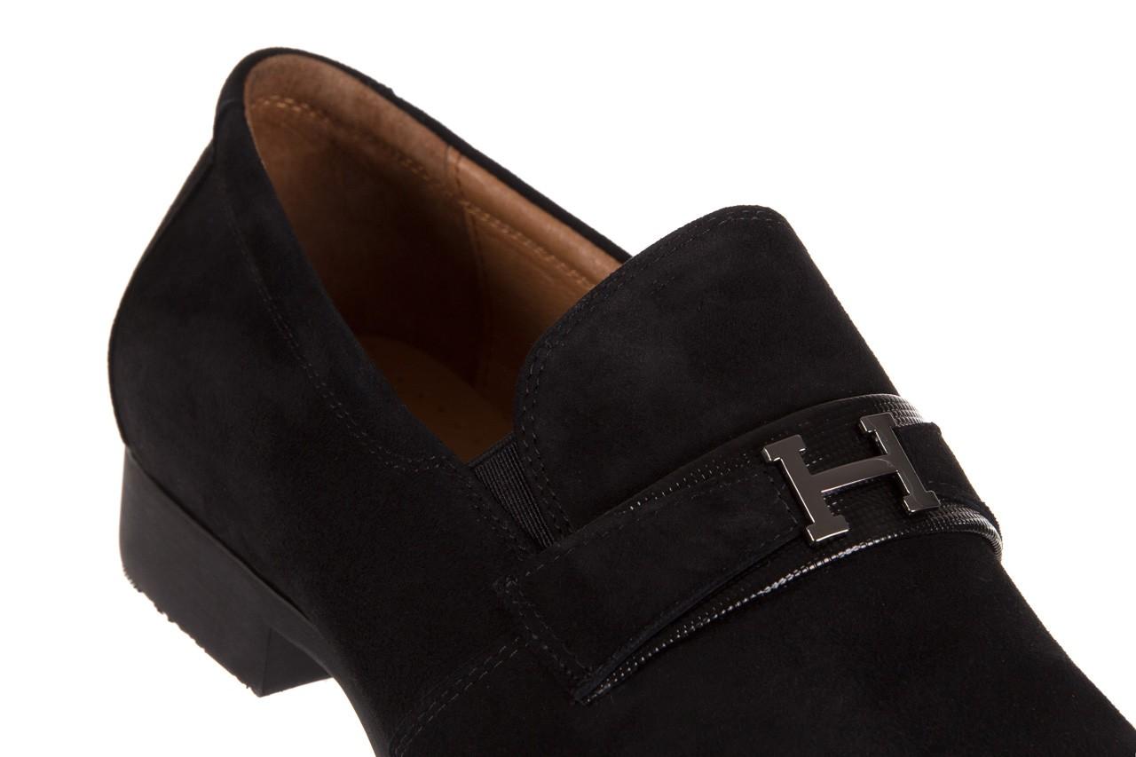 Półbuty brooman c115-302-1 black, czarny, skóra naturalna  - brooman - nasze marki 11