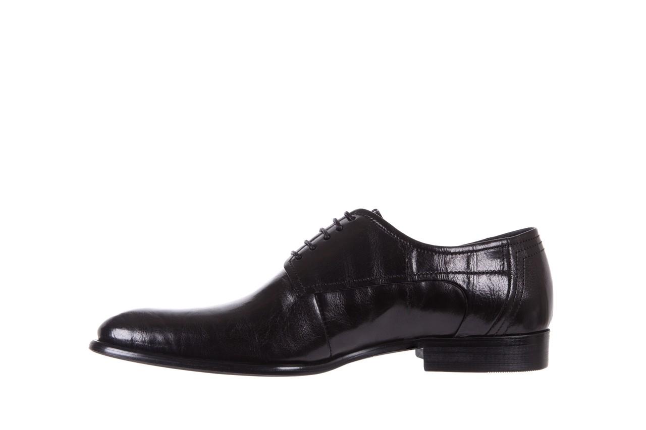 Półbuty brooman c19-358-1 black, czarny, skóra naturalna  - obuwie wizytowe - buty męskie - mężczyzna 8