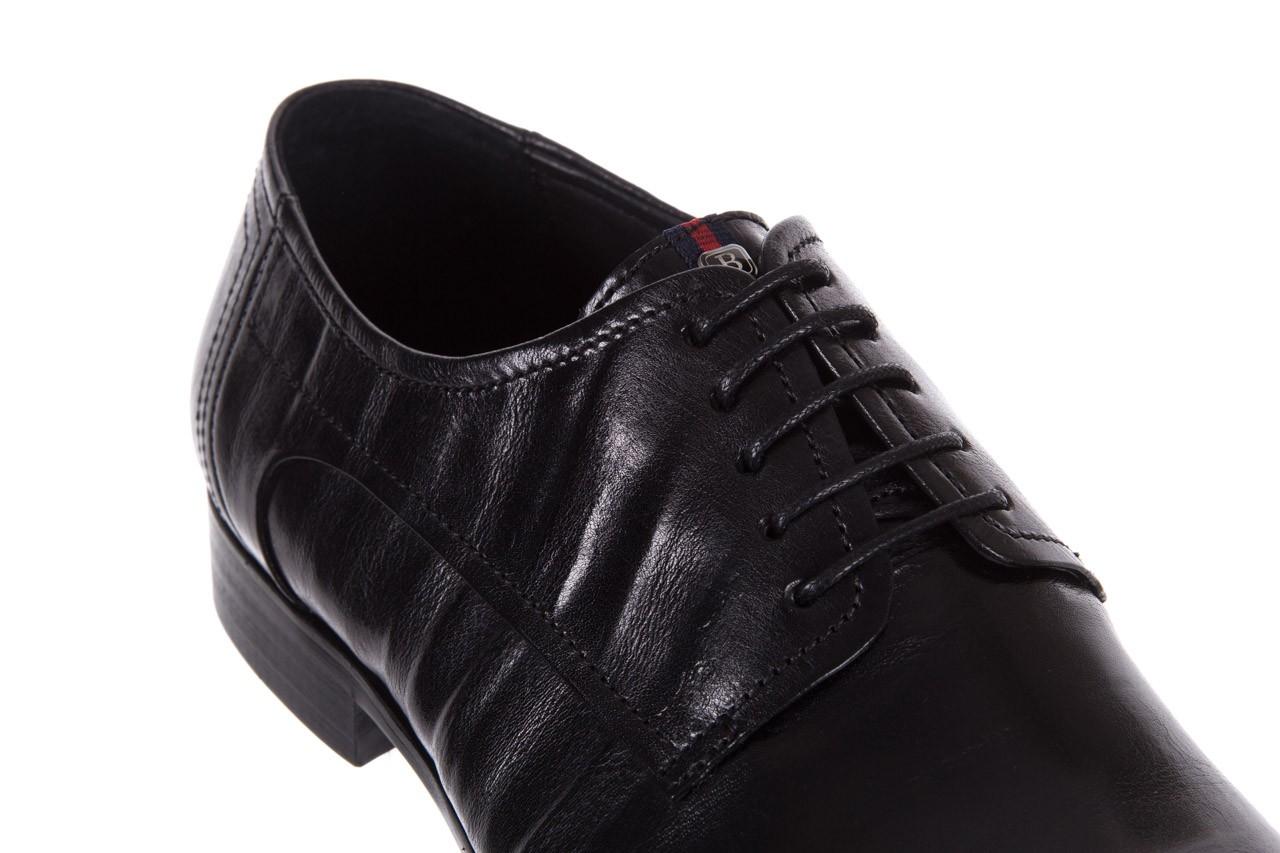 Półbuty brooman c19-358-1 black, czarny, skóra naturalna  - obuwie wizytowe - buty męskie - mężczyzna 11