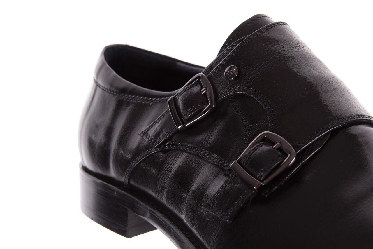 Półbuty brooman ja088-931a-j17 black, czarny, skóra naturalna - brooman - nasze marki 12
