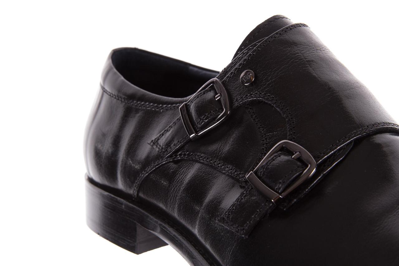 Półbuty brooman ja088-931a-j17 black 21 104179, czarny, skóra naturalna  - wizytowe - półbuty - buty męskie - mężczyzna 13