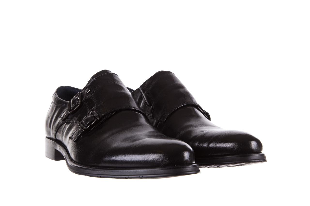 Półbuty brooman ja088-931a-j17 black 21 104179, czarny, skóra naturalna  - wizytowe - półbuty - buty męskie - mężczyzna 8
