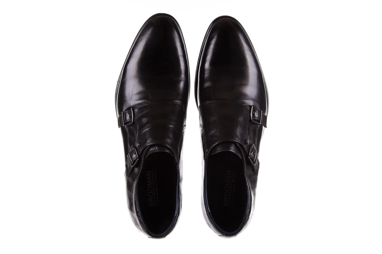 Półbuty brooman ja088-931a-j17 black 21 104179, czarny, skóra naturalna  - wizytowe - półbuty - buty męskie - mężczyzna 11