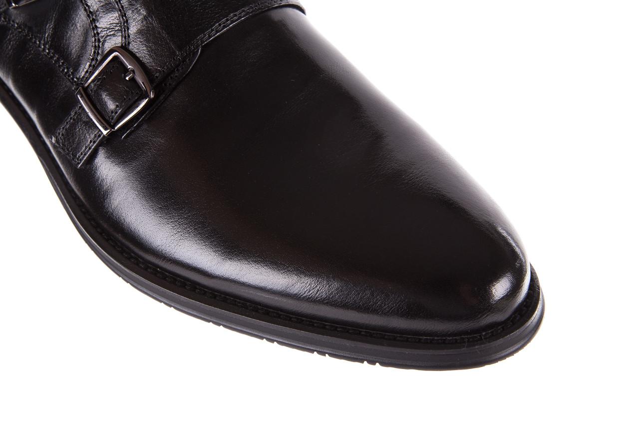 Półbuty brooman ja088-931a-j17 black 21 104179, czarny, skóra naturalna  - wizytowe - półbuty - buty męskie - mężczyzna 12