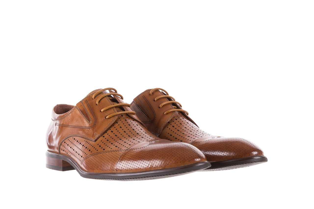 Półbuty brooman jb135-907-c19 brown, brąz, skóra naturalna  - brooman - nasze marki 9