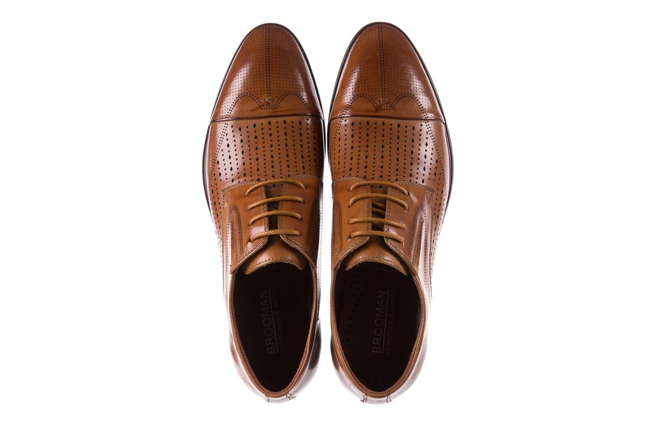 Półbuty brooman jb135-907-c19 brown, brąz, skóra naturalna  - brooman - nasze marki 12