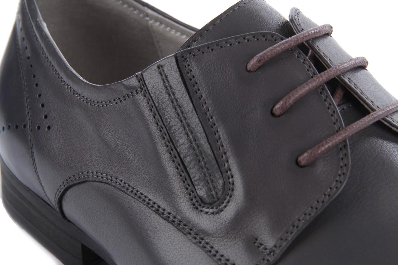 Półbuty brooman john doubare 2501-1-11 grey, szary, skóra naturalna - brooman - nasze marki 13