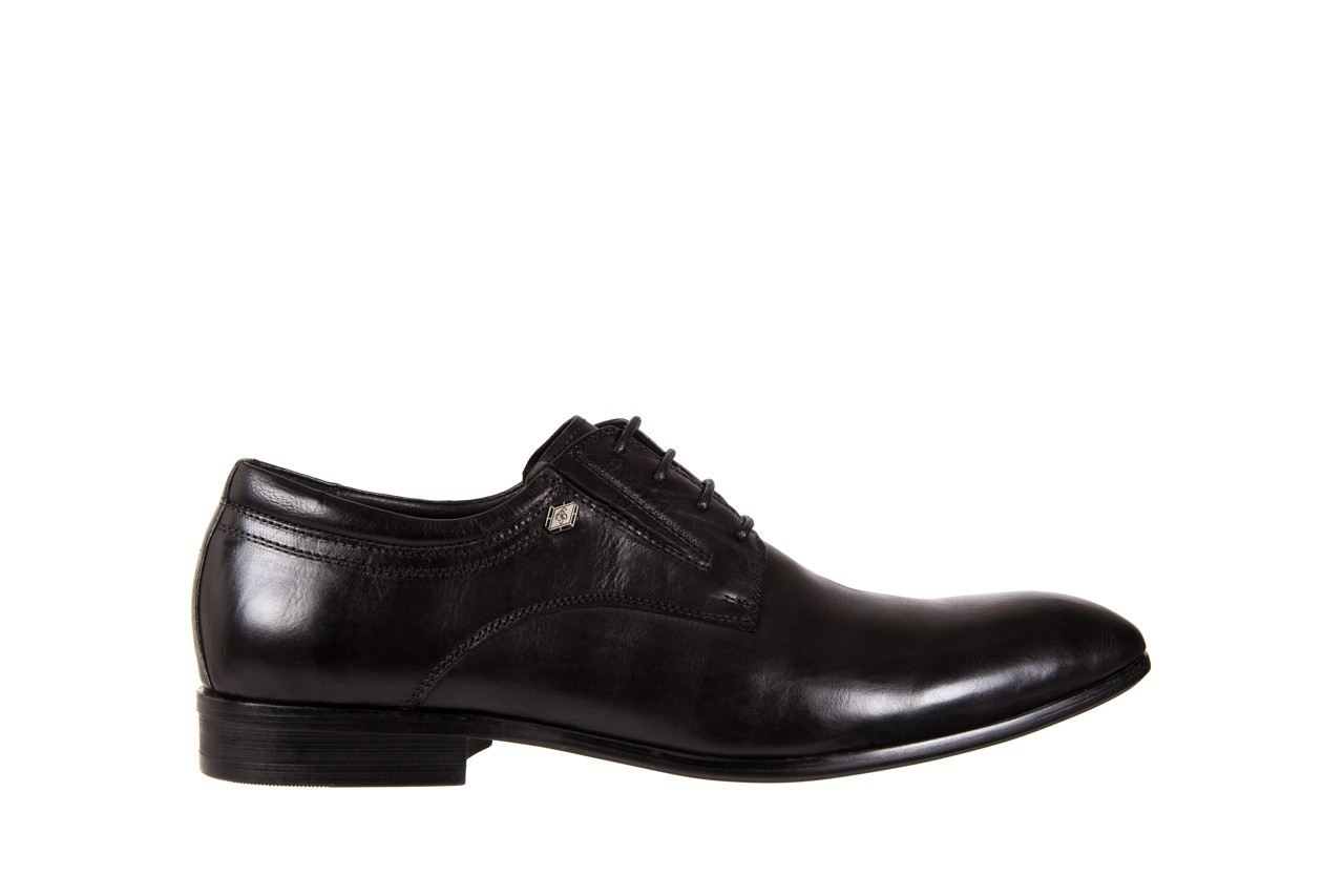 Półbuty brooman john doubare 2701-6-1 black, czarny, skóra naturalna  - brooman - nasze marki 6