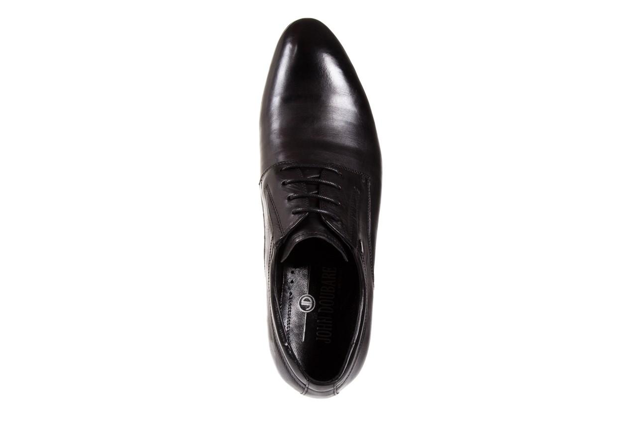 Półbuty brooman john doubare 2701-6-1 black, czarny, skóra naturalna  - brooman - nasze marki 10