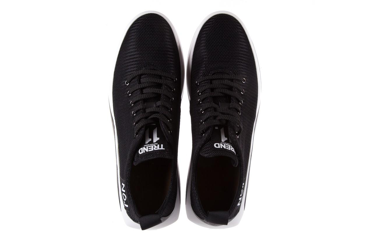Półbuty brooman john doubare c1103a-1 black, czarny, materiał - brooman - nasze marki 11