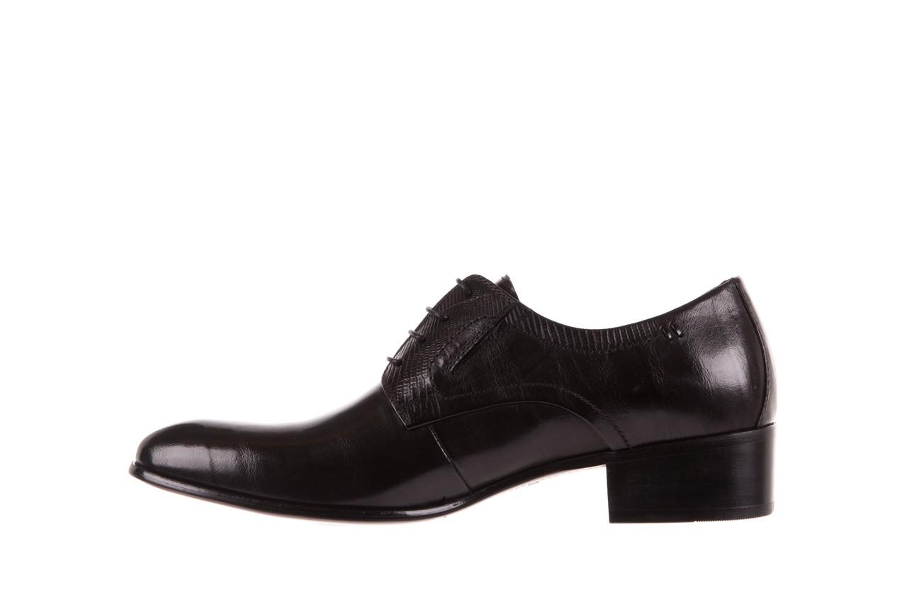 Półbuty brooman john doubare c179-304-2 black, czarny, skóra naturalna  - brooman - nasze marki 8