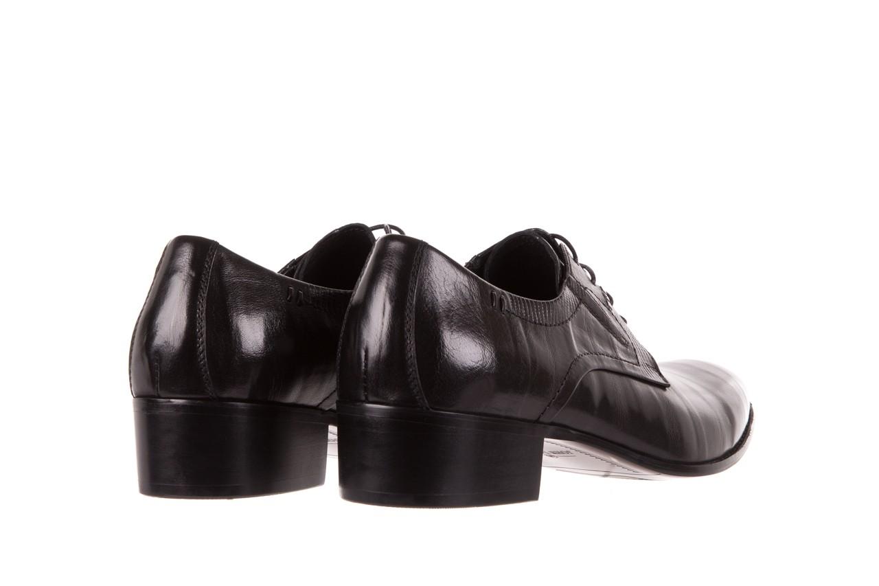 Półbuty brooman john doubare c179-304-2 black, czarny, skóra naturalna  - brooman - nasze marki 9