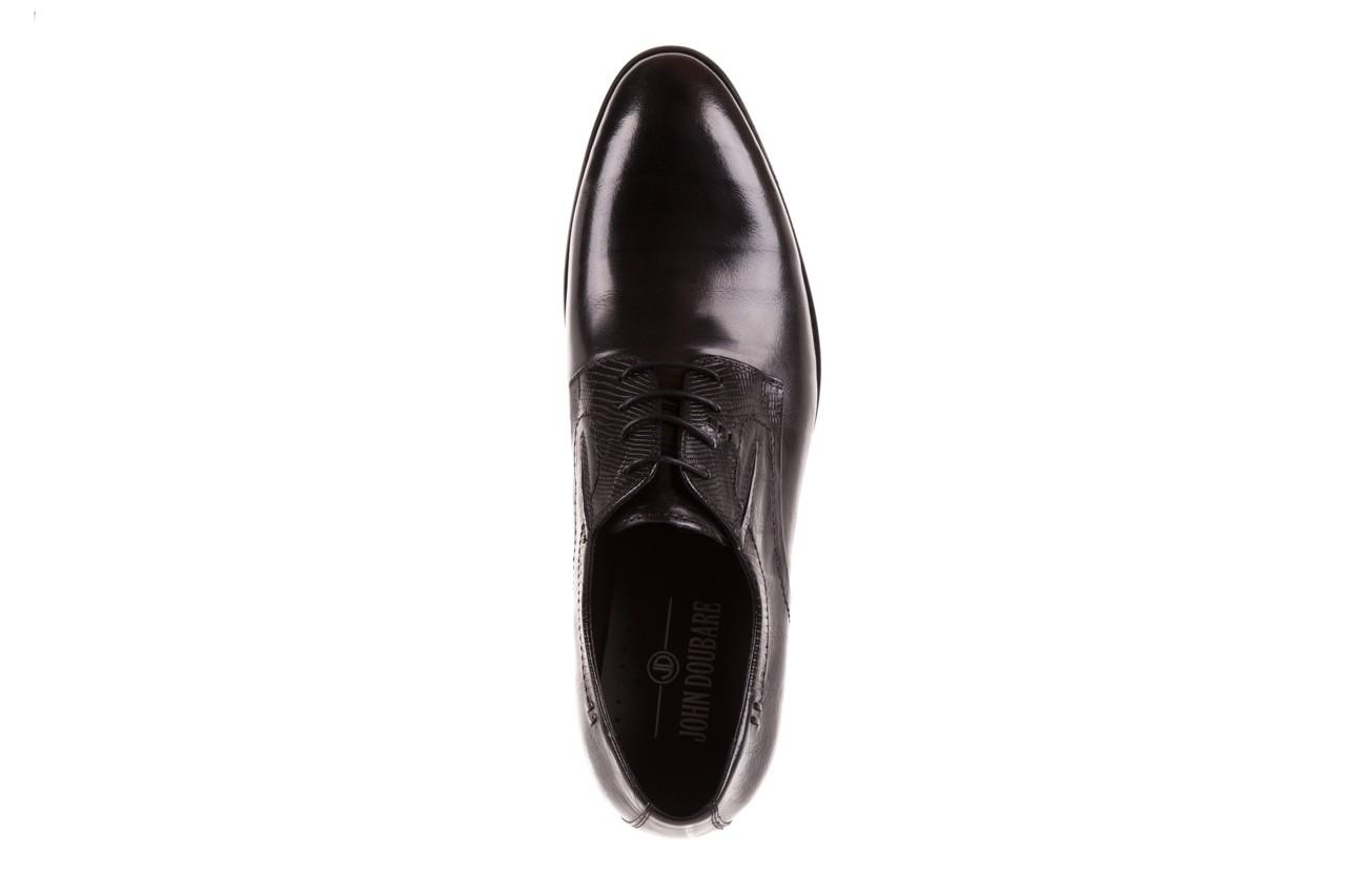 Półbuty brooman john doubare c179-304-2 black, czarny, skóra naturalna  - brooman - nasze marki 11