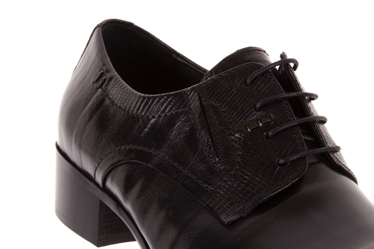Półbuty brooman john doubare c179-304-2 black, czarny, skóra naturalna  - brooman - nasze marki 10