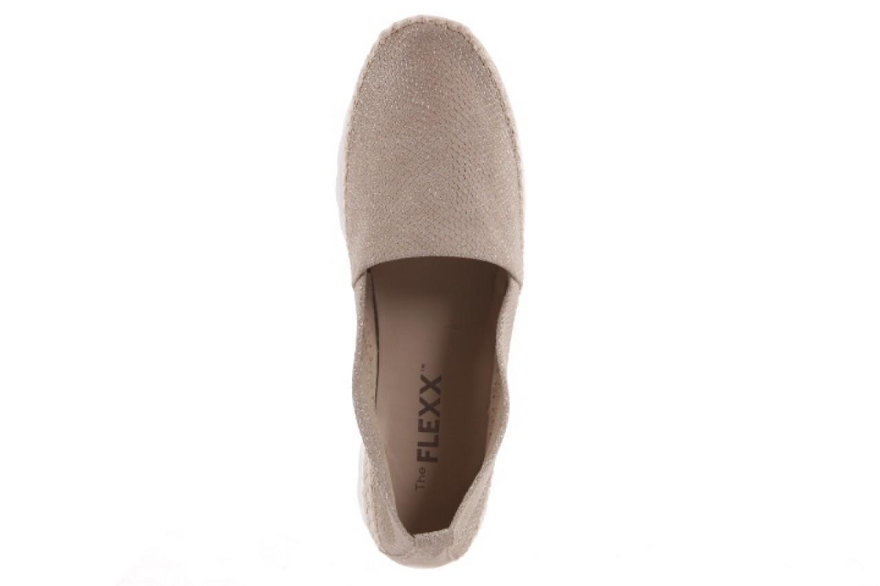 Espadryle the flexx chazan dune, beż, skóra naturalna  - the flexx - nasze marki 9