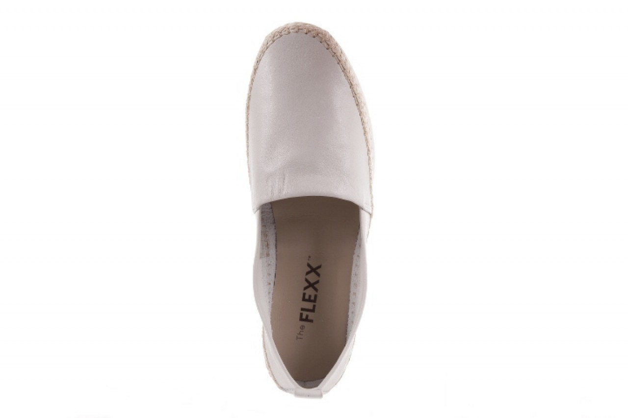 Mokasyny the flexx chazan vacchetta white, biały, skóra naturalna  - the flexx - nasze marki 9
