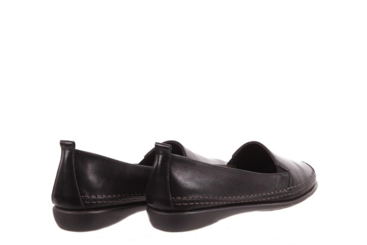 Mokasyny the flexx mr. right black, czarny, skóra naturalna  - the flexx - nasze marki 8