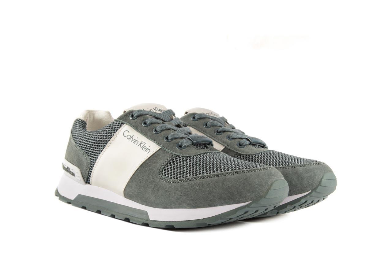 Sneakersy calvin klein jeans dusty mesh washed nubuck smoot dusty blue, zielony, skóra/materiał - calvin klein jeans - nasze marki 8