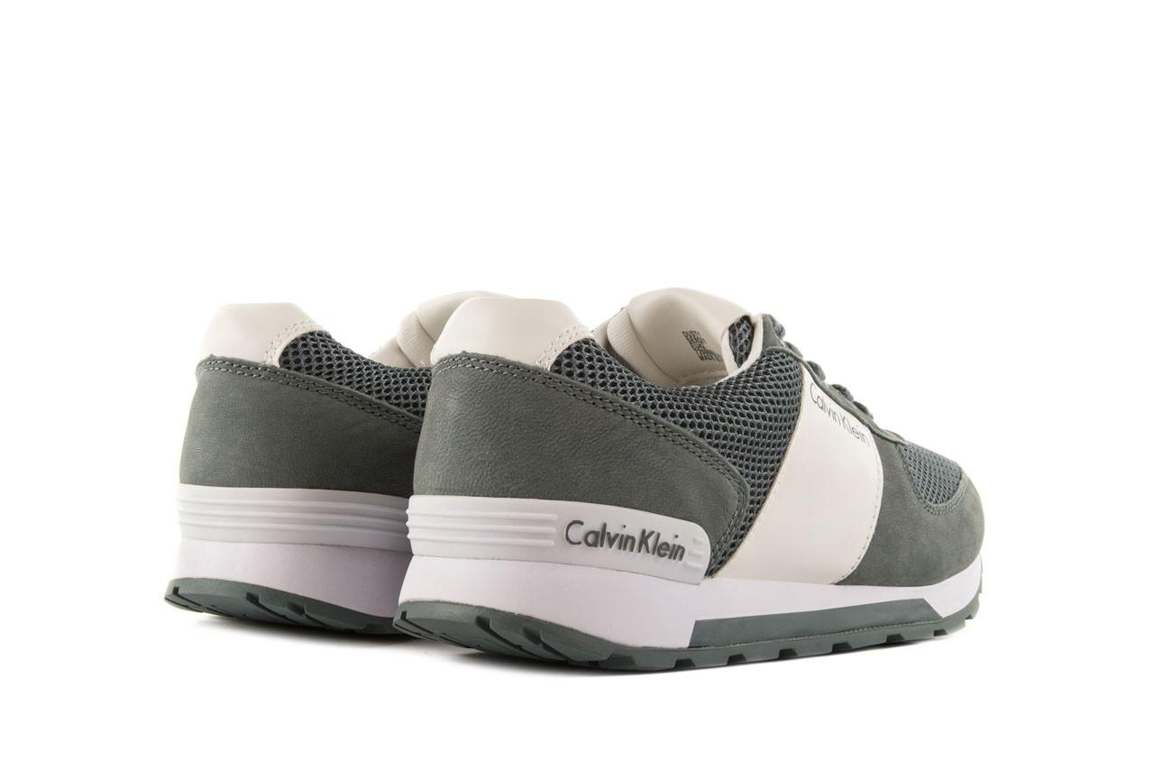 Sneakersy calvin klein jeans dusty mesh washed nubuck smoot dusty blue, zielony, skóra/materiał - calvin klein jeans - nasze marki 10