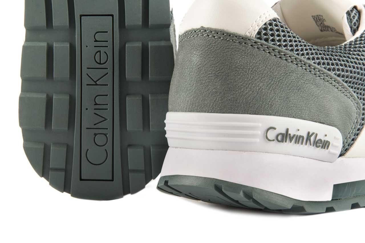 Sneakersy calvin klein jeans dusty mesh washed nubuck smoot dusty blue, zielony, skóra/materiał - calvin klein jeans - nasze marki 12