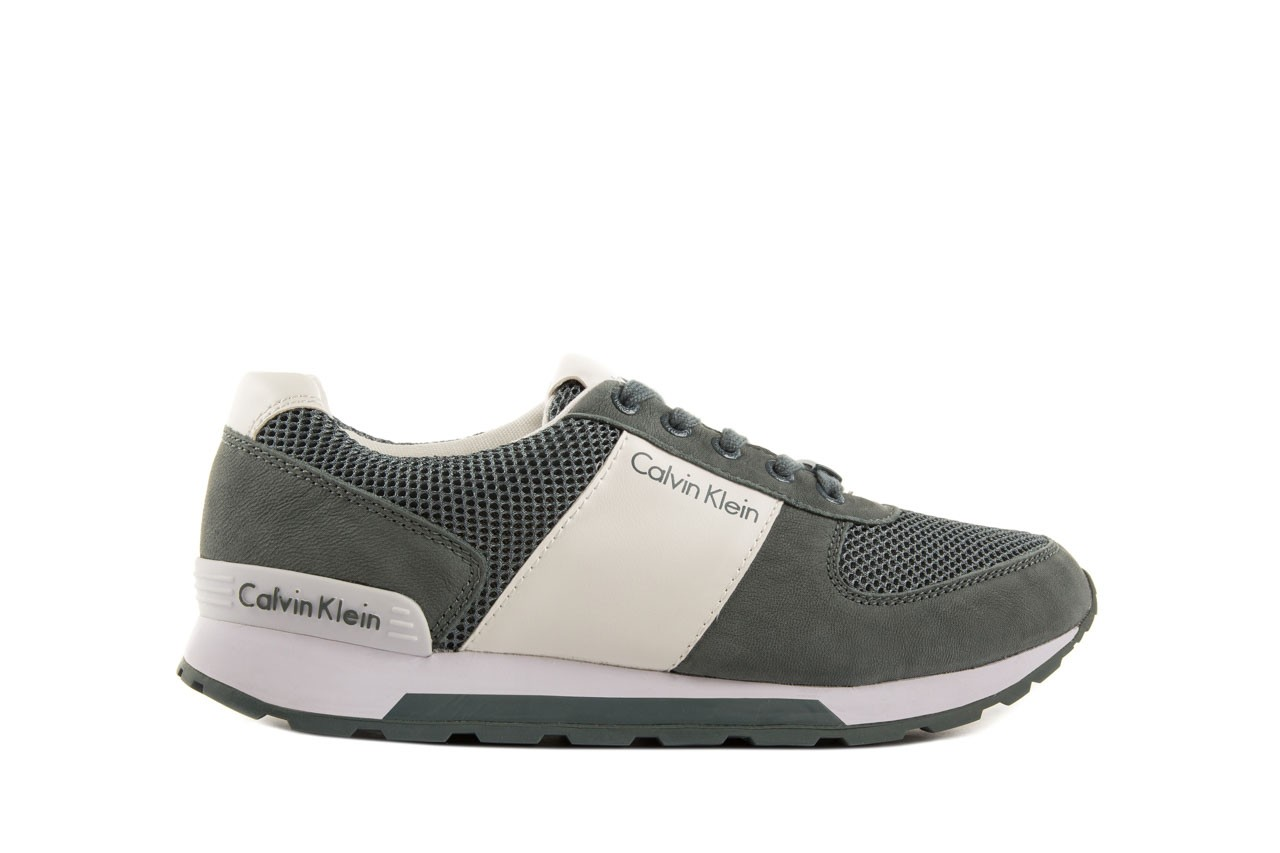 Sneakersy calvin klein jeans dusty mesh washed nubuck smoot dusty blue, zielony, skóra/materiał - calvin klein jeans - nasze marki 7