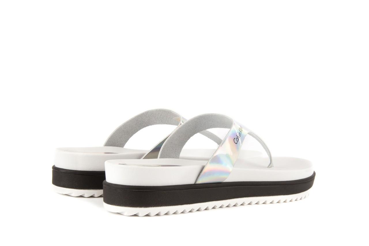 Calvin klein jeans ginevra iridescent mirror silver 9