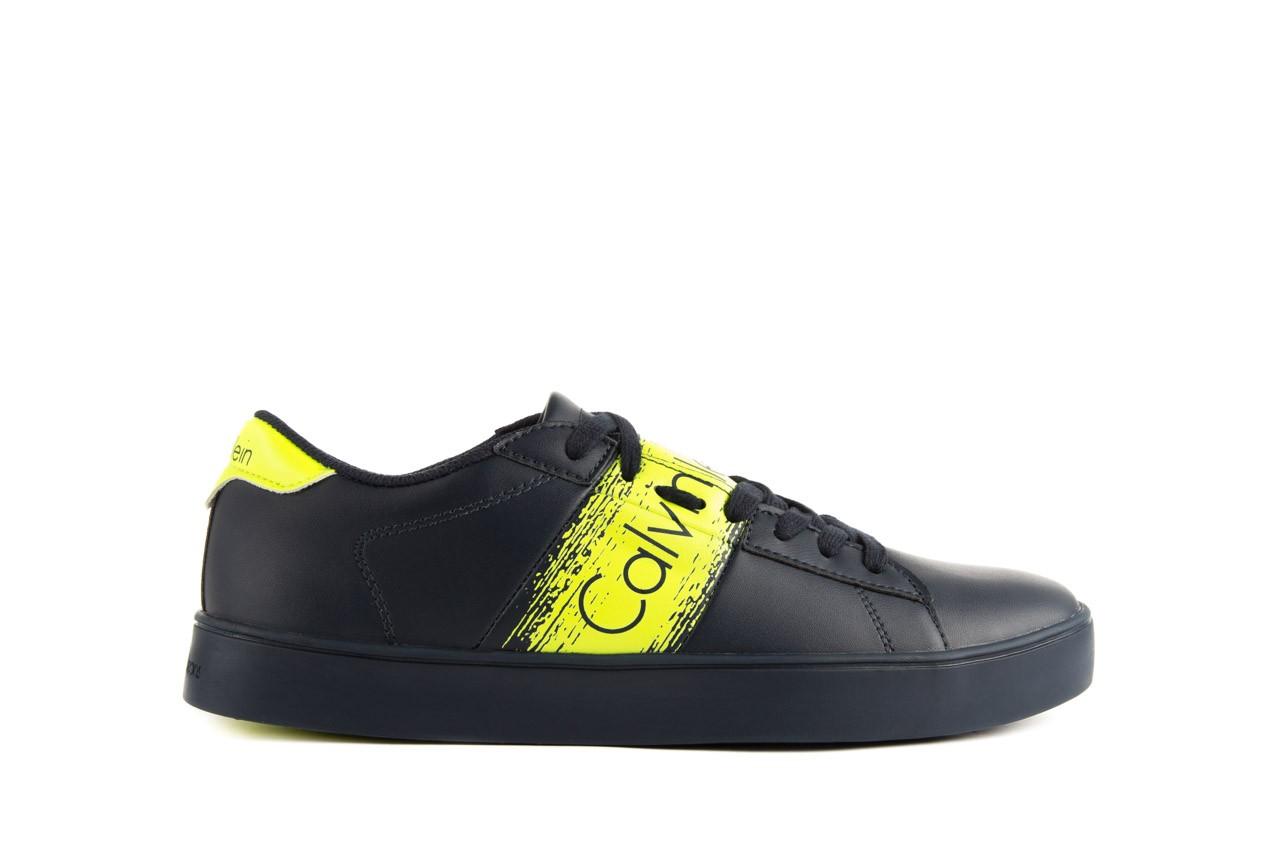 Calvin klein jeans luis matte smooth print navy yellow 7