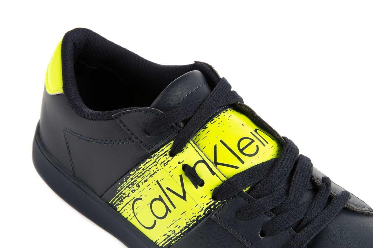 Calvin klein jeans luis matte smooth print navy yellow 13