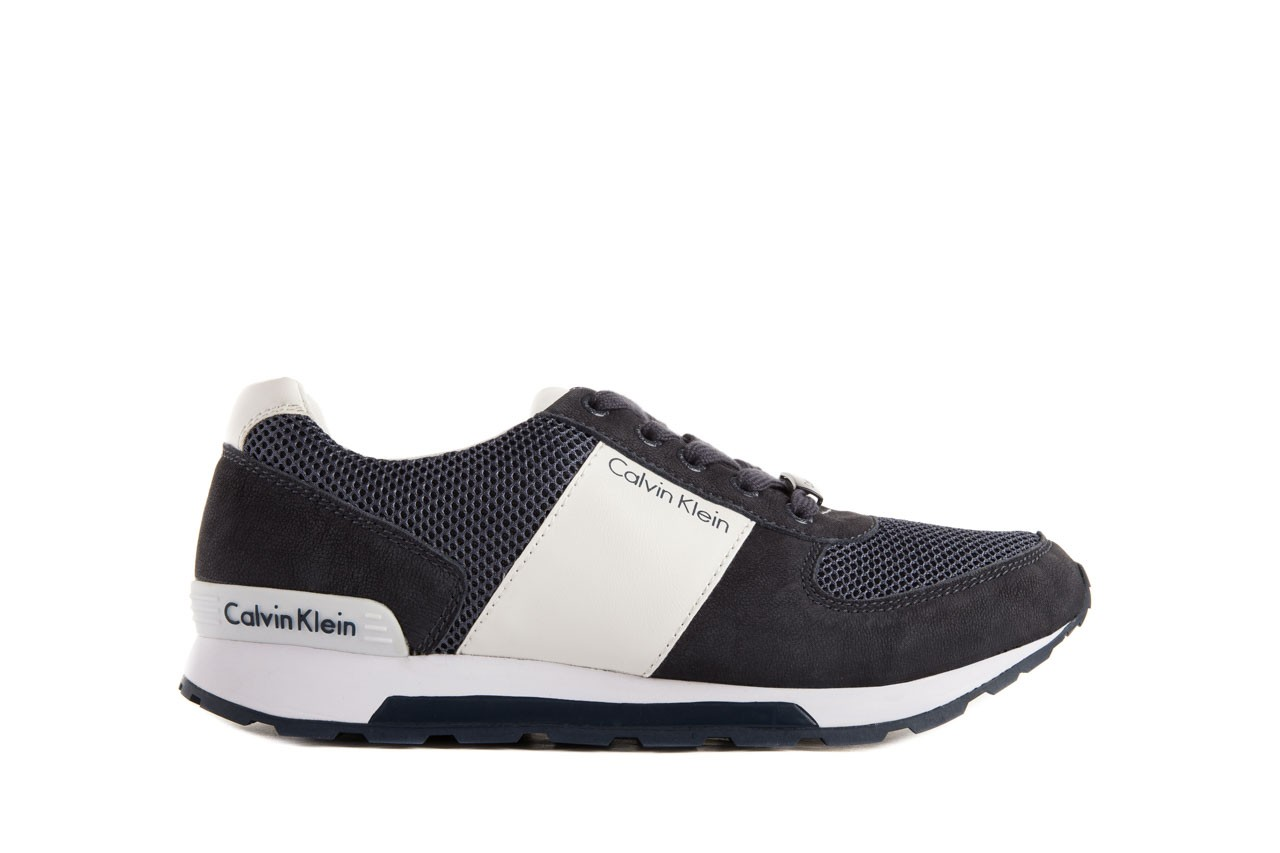 Calvin klein jeans dusty mesh washed nubuck smoot navy 7