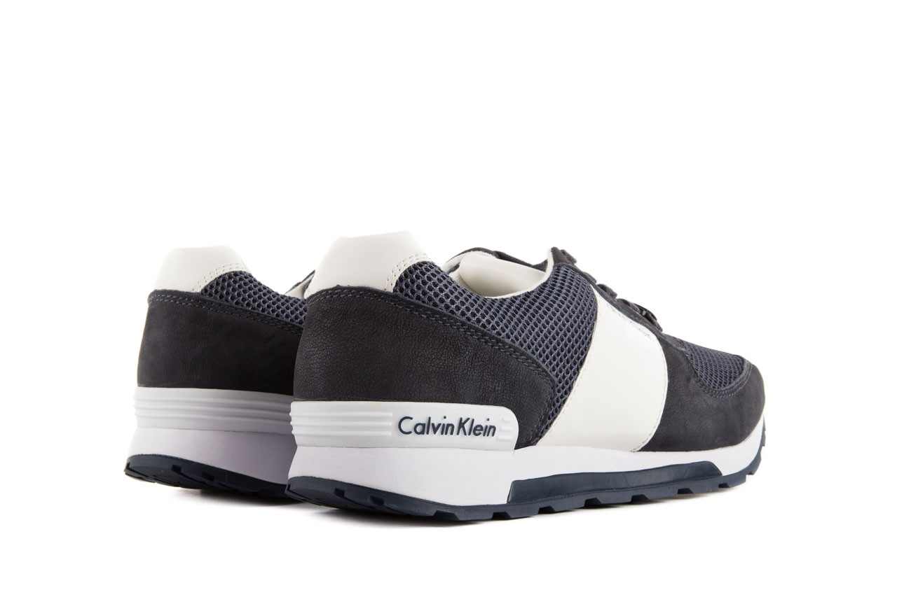 Calvin klein jeans dusty mesh washed nubuck smoot navy 10