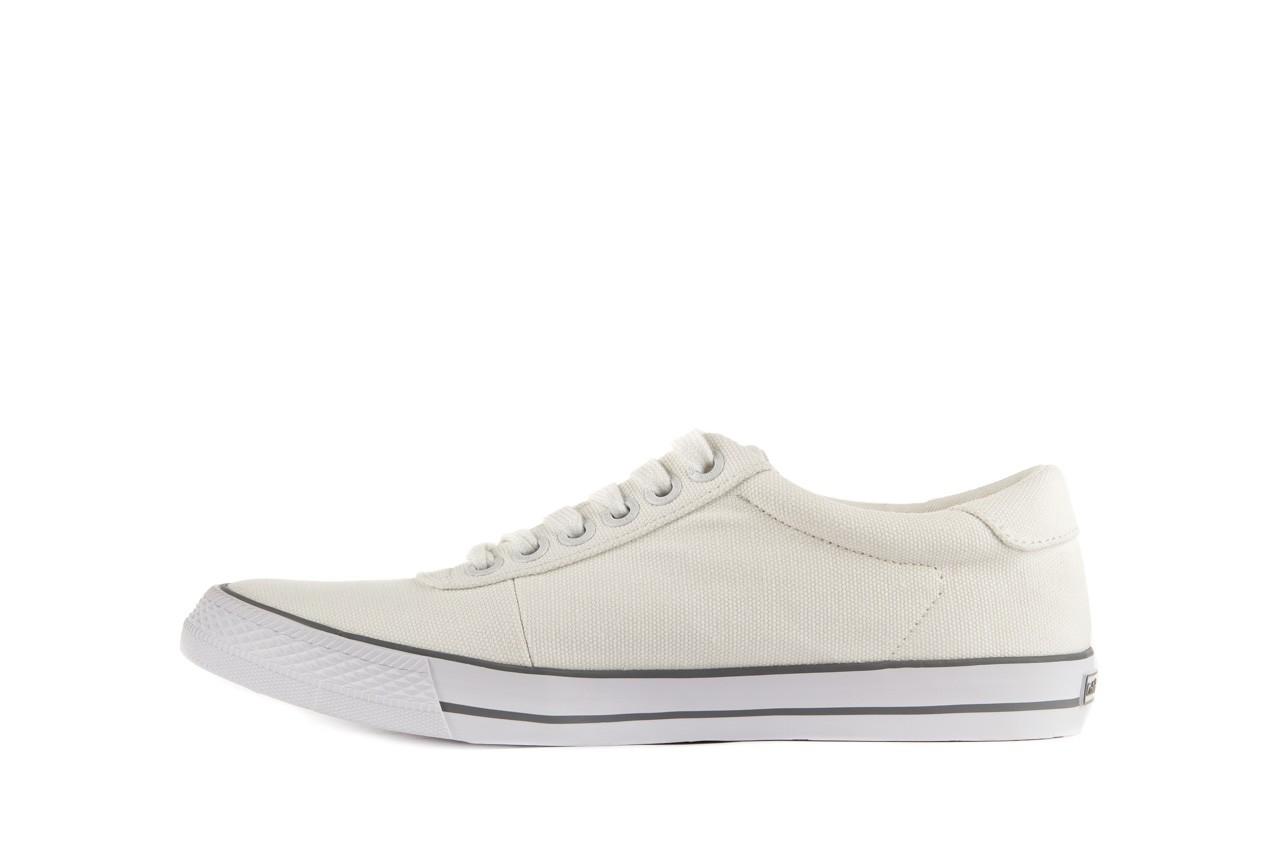 Trampki calvin klein jeans oscar canvas white, biały, materiał - calvin klein jeans - nasze marki 8