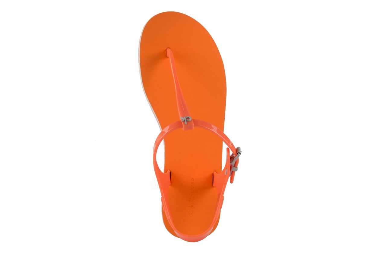 Calvin klein jeans savanna jelly orange fluo. - calvin klein jeans - nasze marki 10