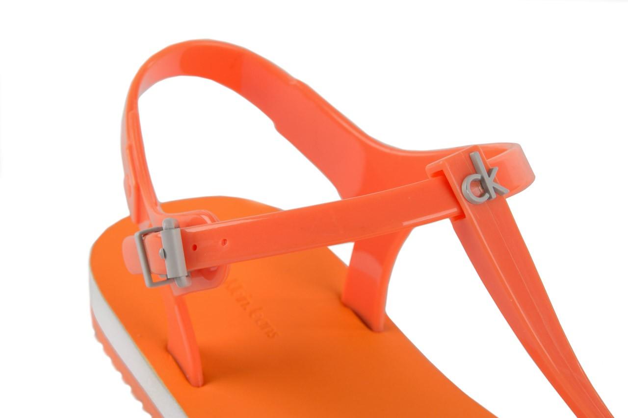 Calvin klein jeans savanna jelly orange fluo. - calvin klein jeans - nasze marki 11