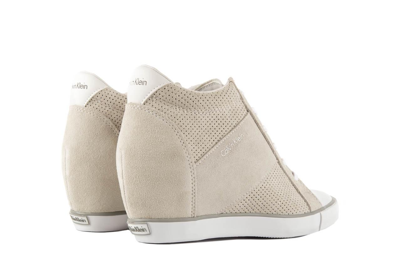 Calvin klein jeans voss perf suede smooth white - calvin klein jeans - nasze marki 9