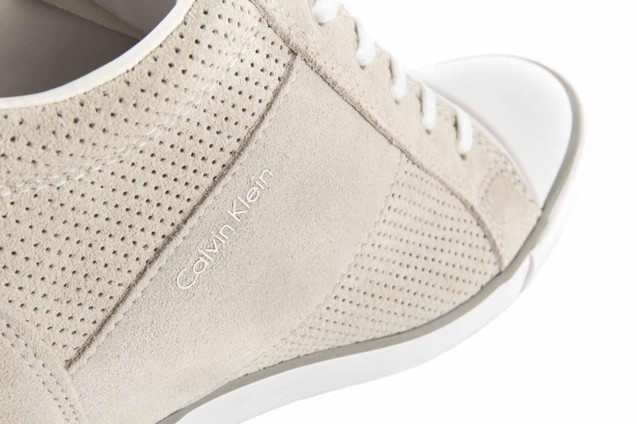 Calvin klein jeans voss perf suede smooth white - calvin klein jeans - nasze marki 11